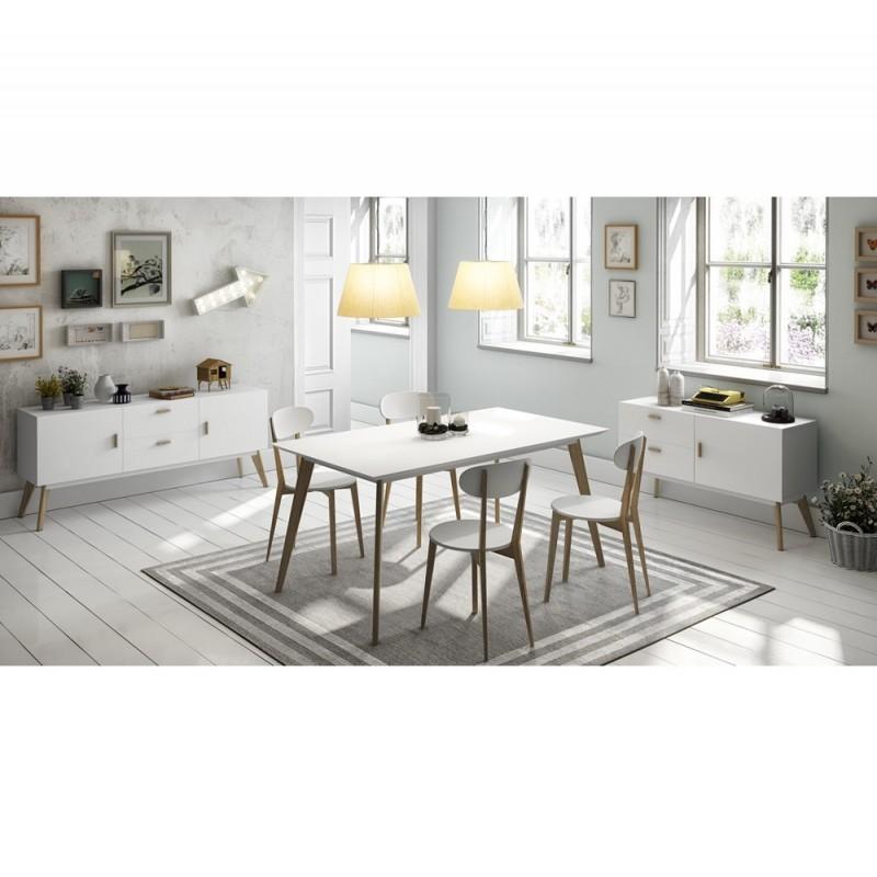 Oferta conjunto de muebles para sal n de dise o n rdico y for Conjunto muebles salon