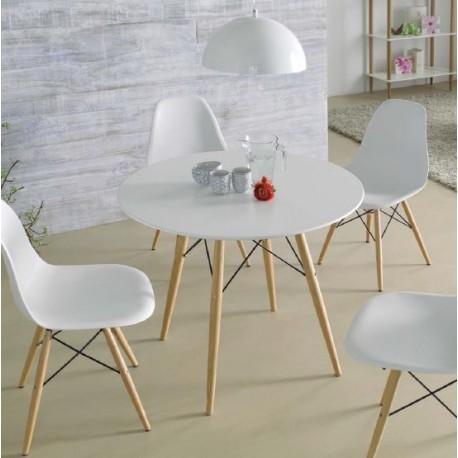 Tu tienda de muebles online y decoraci n deccoshop - Salon comedor con mesa redonda ...