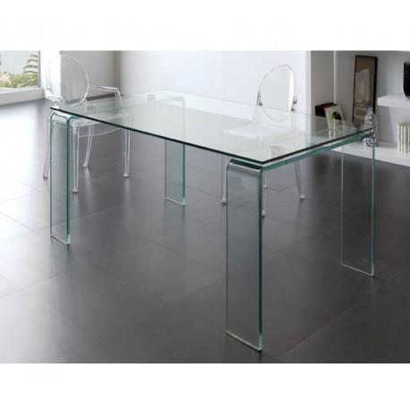 Mesa de comedor cristal DT-06