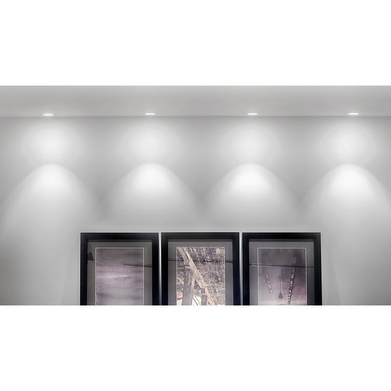 Iluminaci n empotrable led para techo luminaria led swap - Led empotrable techo ...