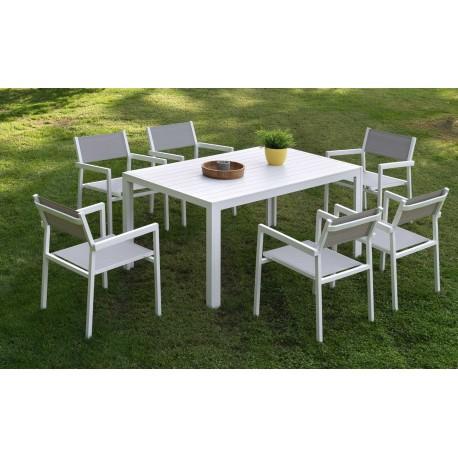 Conjunto mesa y sillas Calpe