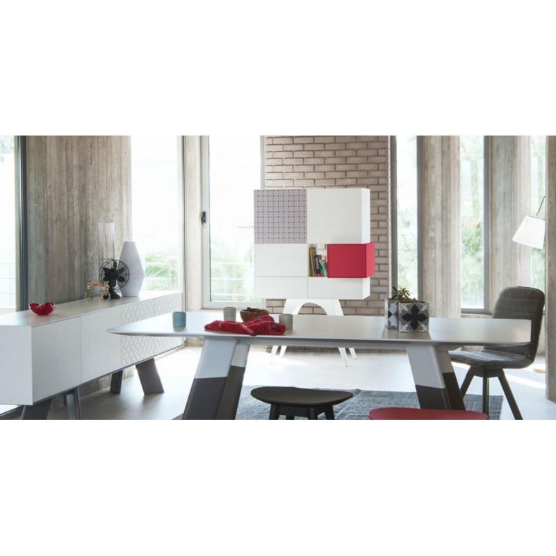 Mueble auxiliar contenedor bo em mueble contenedor de for Mueble auxiliar alto