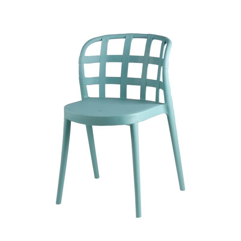 silla de polipropileno para el exterior modelo gina