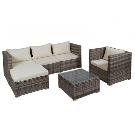 Conjunto sofás y mesa Barbados