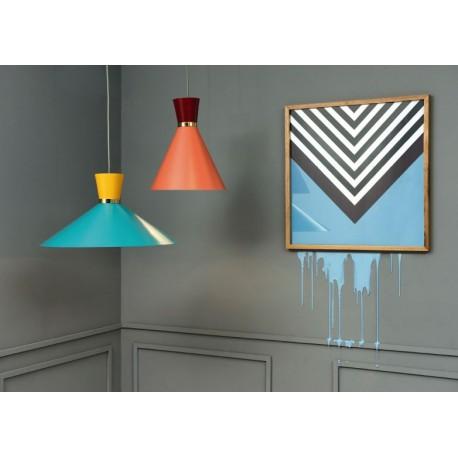 Lámpara Heno bicolor