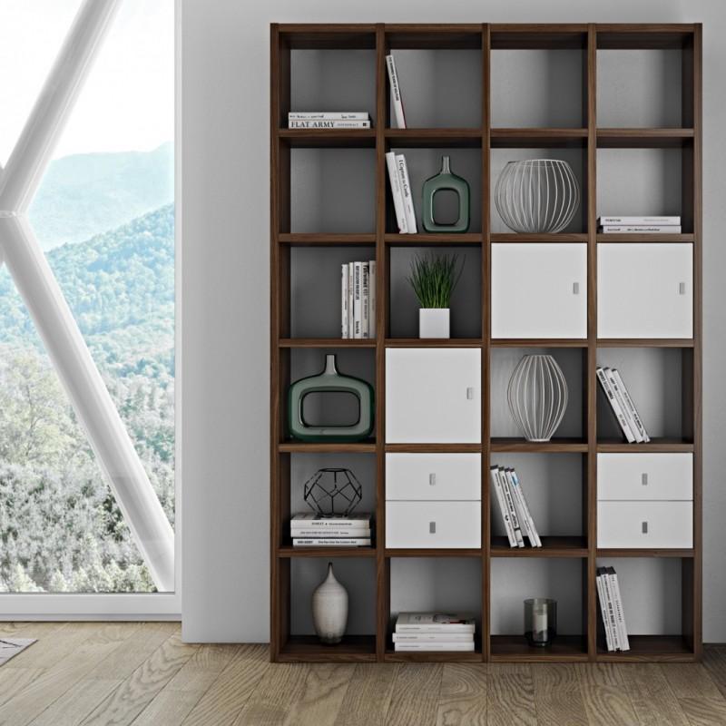 Estanterias modulares madera estantera modular ad espaa - Estanterias modulares madera ...
