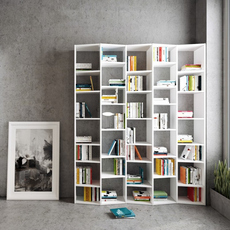 Estanter as originales estanterias blancas estanterias - Estanterias metalicas blancas ...