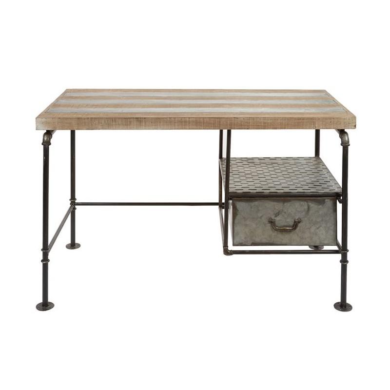 Mesa escritorio vintage de estilo industrial combinando - Escritorio estilo industrial ...