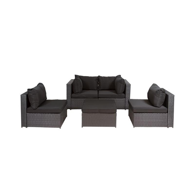 Conjunto modular terraza verano sof s milano para for Conjunto de sofas para exterior