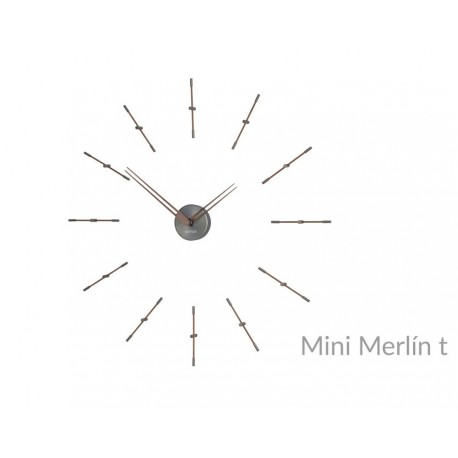 Reloj pared Merlin Mini