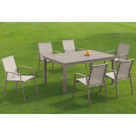Mesa y sillas Faro