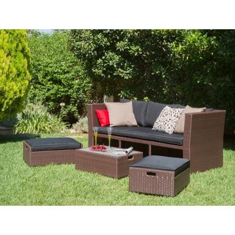 Conjunto sofá Jardín Lido