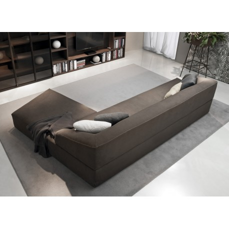 ZED sofás composición con pouf