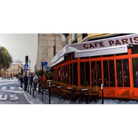 Cuadro Cafe de Paris
