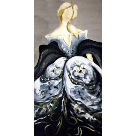 Cuadro Mujer Veneciana II