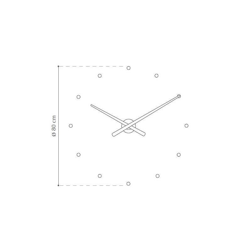 ffed411a5cba ... Reloj pared OJ de Nomon