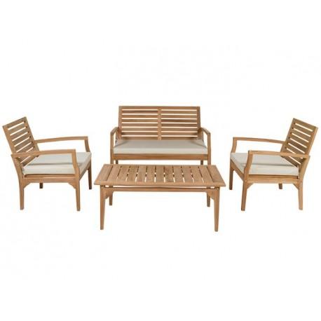 Conjunto sofás jardin Ivory