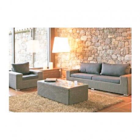Conjunto sofás jardín Bruno