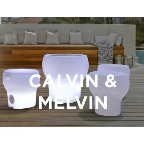 Set Mesa Melvin + 4 taburetes Calvin