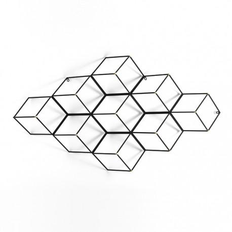 Escultura pared Cube