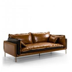 Sofá Kleo marrón
