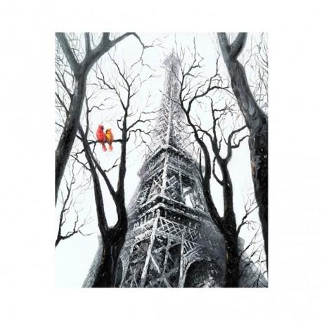 "Cuadro ""Bird at Eiffel"""