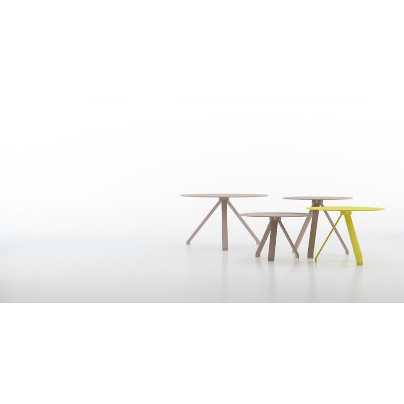 Mesa auxiliar met lica y en colores modelo celes de systemtronic - Mesa auxiliar metalica ...