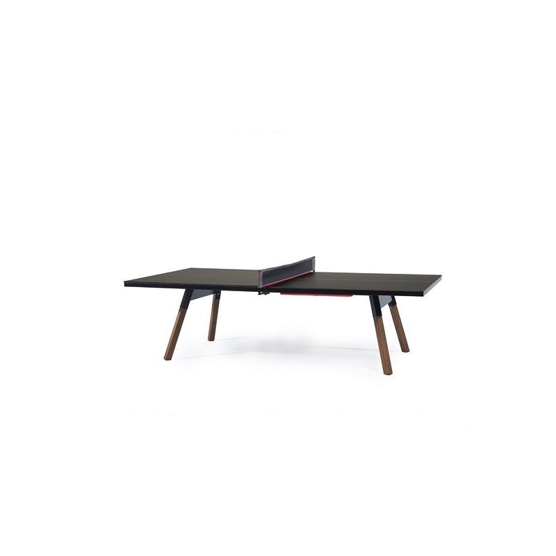 Mesa de ping pong convertible como mesa de comedor gran dimensi n - Funda mesa ping pong ...