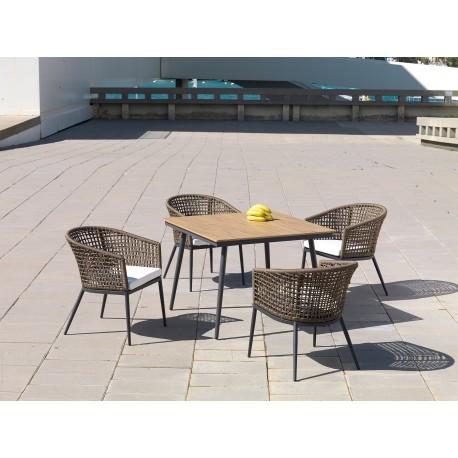 Conjunto mesa y sillas Roma