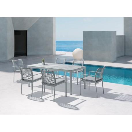 Conjunto mesa y 6 sillas Verona