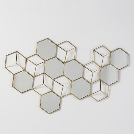 Escultura pared Cube II