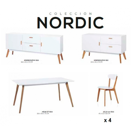 Muebles Nordicos para salon