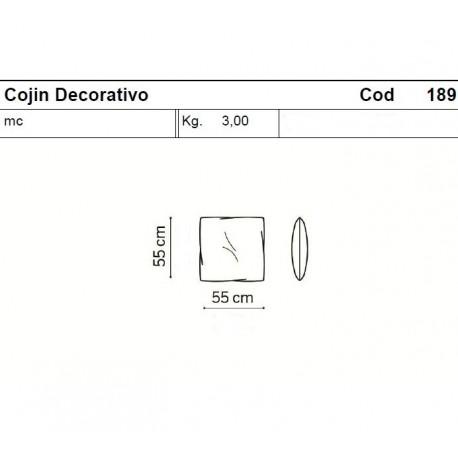 Cojín decorativo Loop&Co