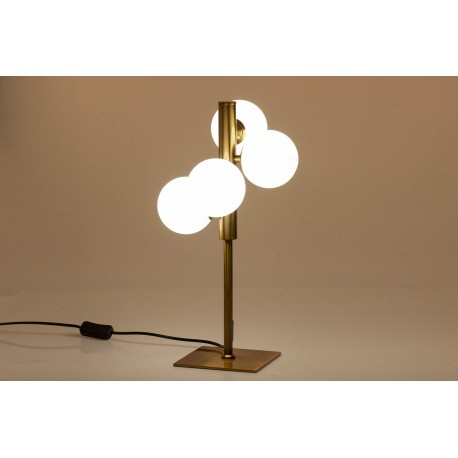 LAMPARA SOBREMESA CRISTAL WHISTLER 25x25x46 CM