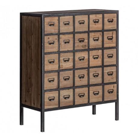 Mueble auxiliar multicajonera