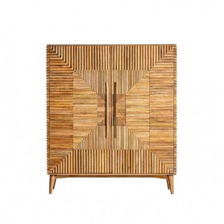 Mueble auxiliar Plissé Wood