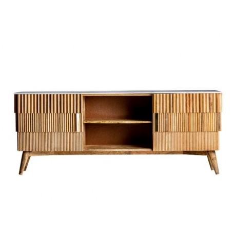Mueble TV Plissé Wood