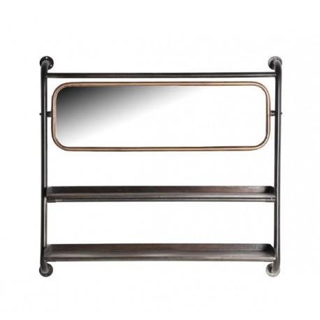 Espejo estantería Straw