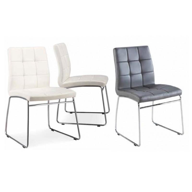 silla tapizada polipiel karla silla de dise o en valencia