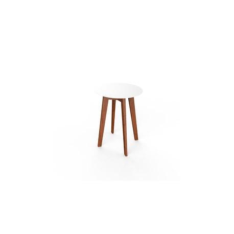 Mesa redonda madera Slim
