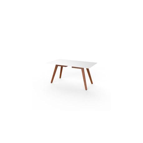 Slim rectangular madera