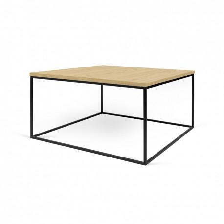 Mesa centro 75 Gleam -tapa madera-