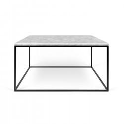 Mesa centro de marmol y metal Gleam