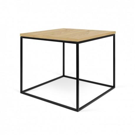 Mesa centro 50 Gleam -tapa madera-