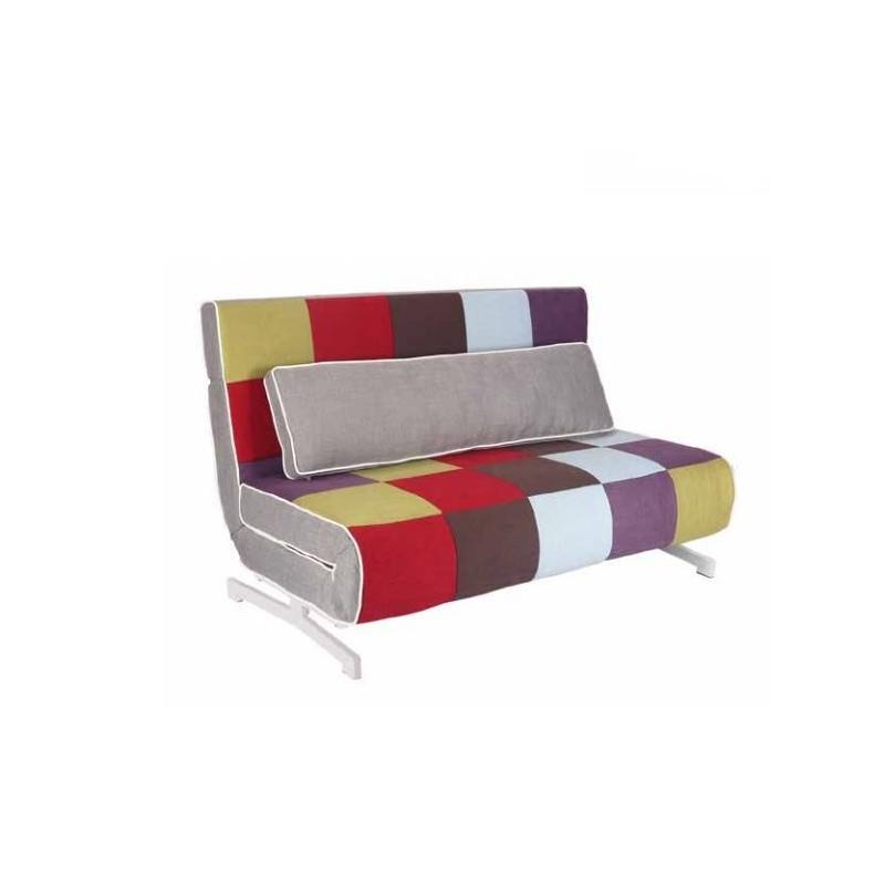 Sofa cama italiano modelo milano cabezal reclinable y for Sofa cama modelo italiano