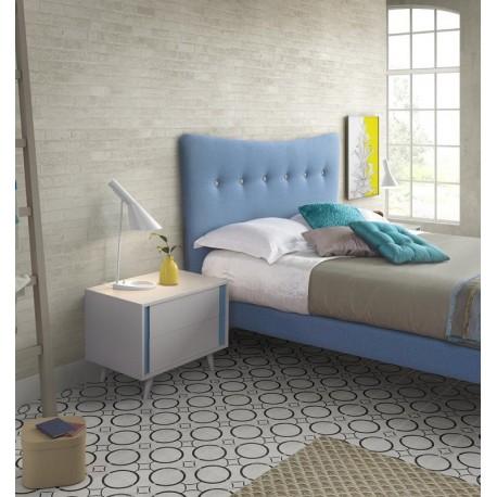 Cama tapizada Nordic