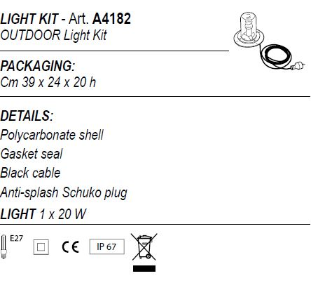 Light kit A4182
