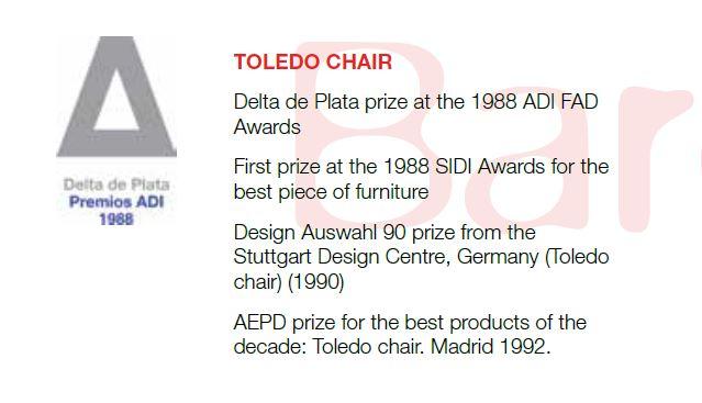 Premios silla Toledo
