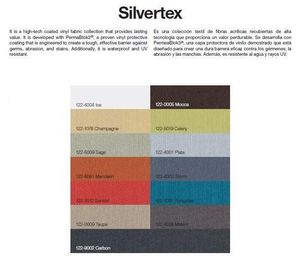 Tejido Silvertex