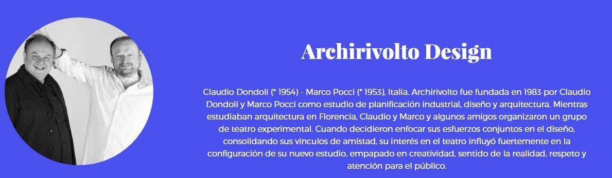 Archirivolto design